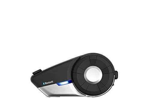Sena 20S-01D Motorcycle Bluetooth 4.1 Communication System with HD Audio and Advanced Noise Control (Dual)