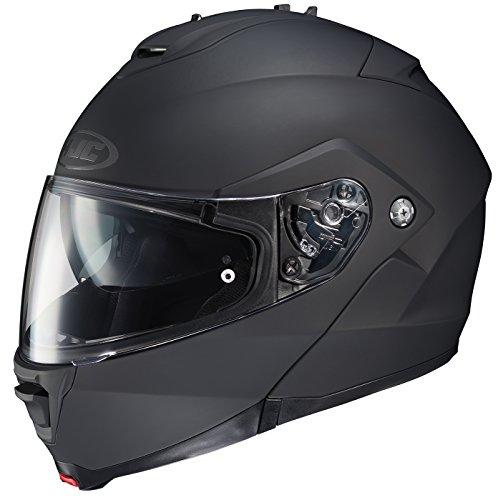 HJC Unisex Adult is-MAX II Matte Black Modular Helmet 980-615