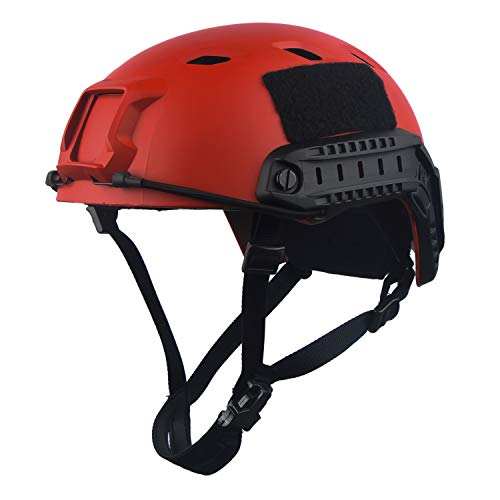 LOOGU Fast BJ Base Jump Military Helmet with 12-in-1 Headwear