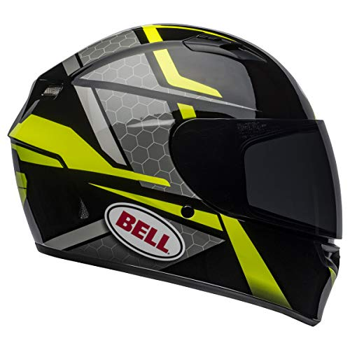 Bell Qualifier Full-Face Helmet Gloss Blue/Yellow/White Torque Medium