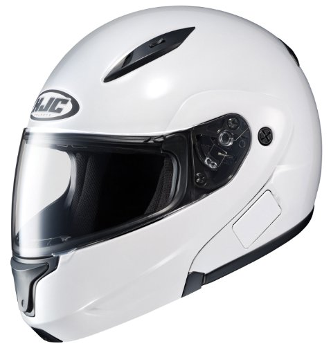 HJC CL-MAXBT II Bluetooth Modular Motorcycle Helmet (Wine, Small)