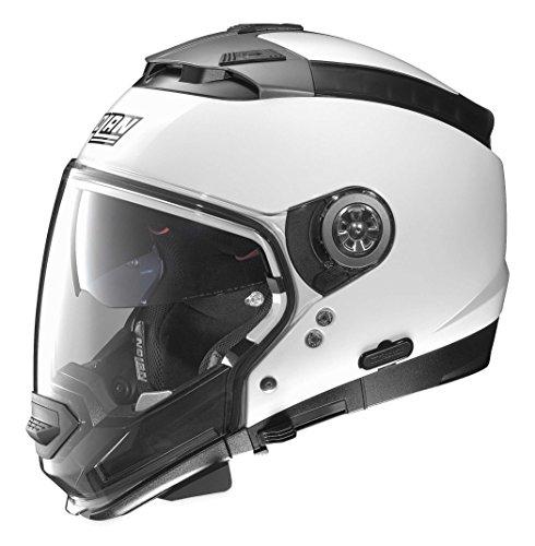 Nolan Unisex Adult N44 EVO Metallic White Modular Helmet NE45270330055