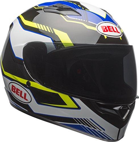 Bell Qualifier Full-Face Helmet Gloss Blue/Yellow/White Torque Medium