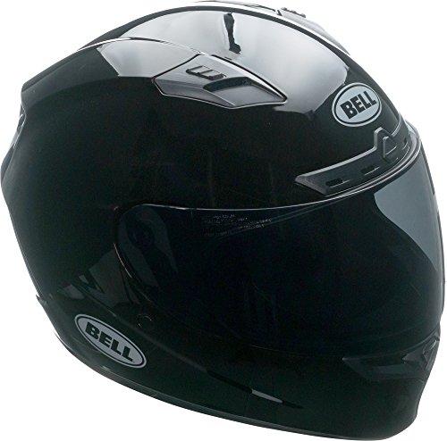 Bell Isle Of Man Adult Qualifier DLX Street Motorcycle Helmet - Black/Red/Large