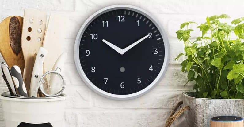 Amazon Relists Echo Wall Clock After Fixing the Connectivity Issues