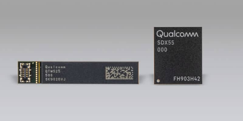 Qualcomm's X55 Chip Supports 5G at 7Gbps