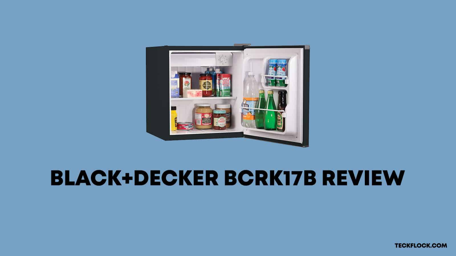 Black+Decker BCRK17 Review