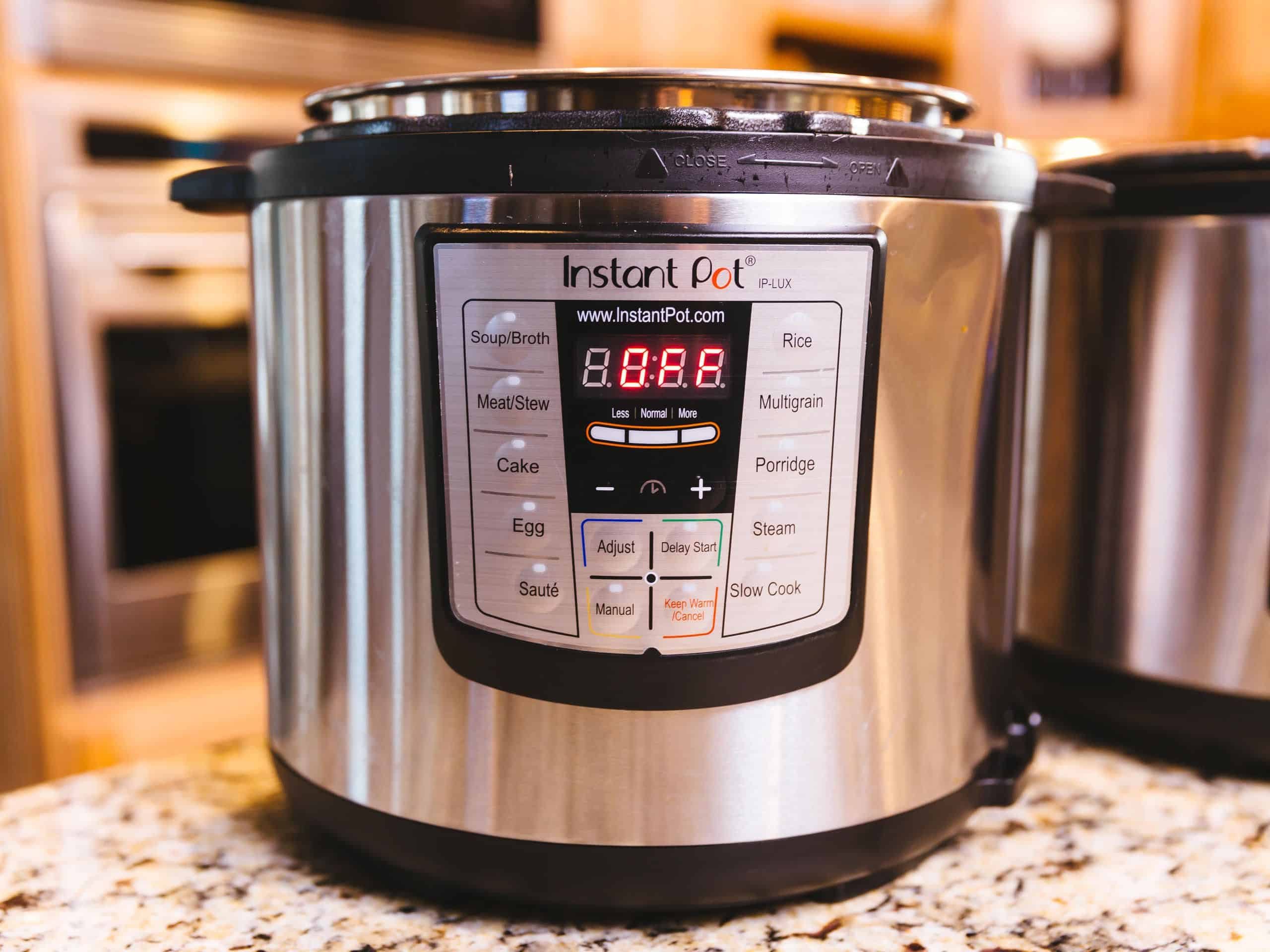 Instant Pot found to sterilise all bacteria