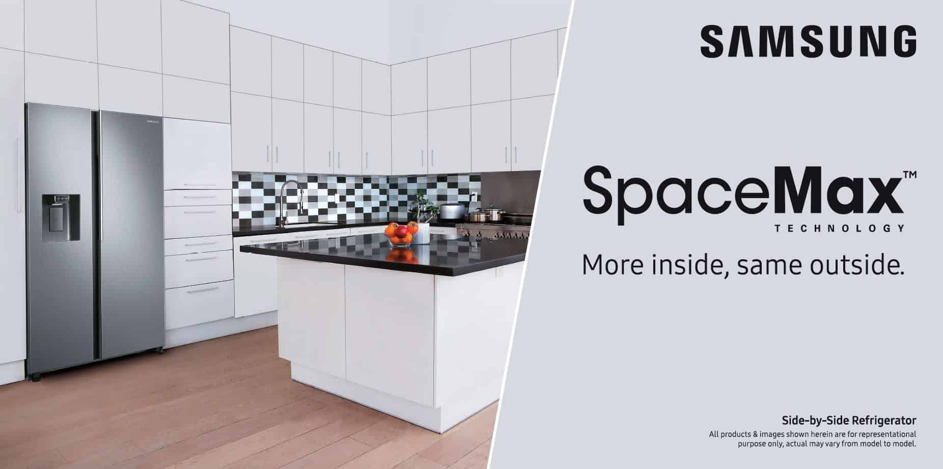 Samsung launches new SpaceMax series refrigerators