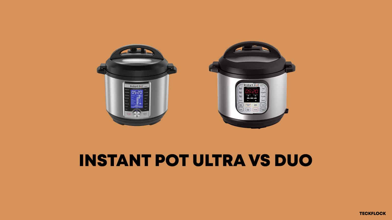 Instant Pot Ultra vs Duo