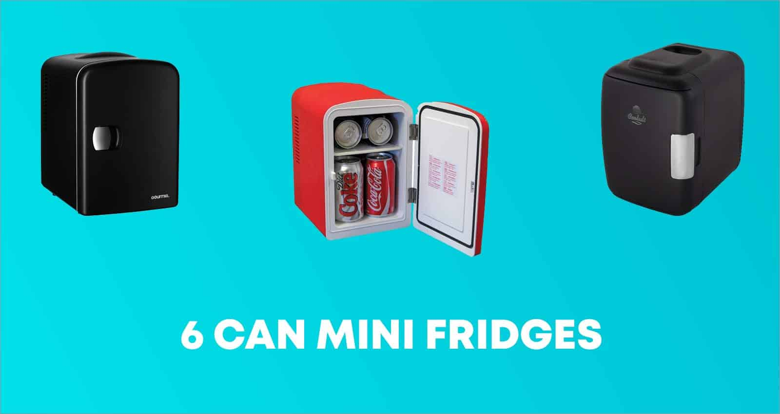 6 CAN Mini Fridges