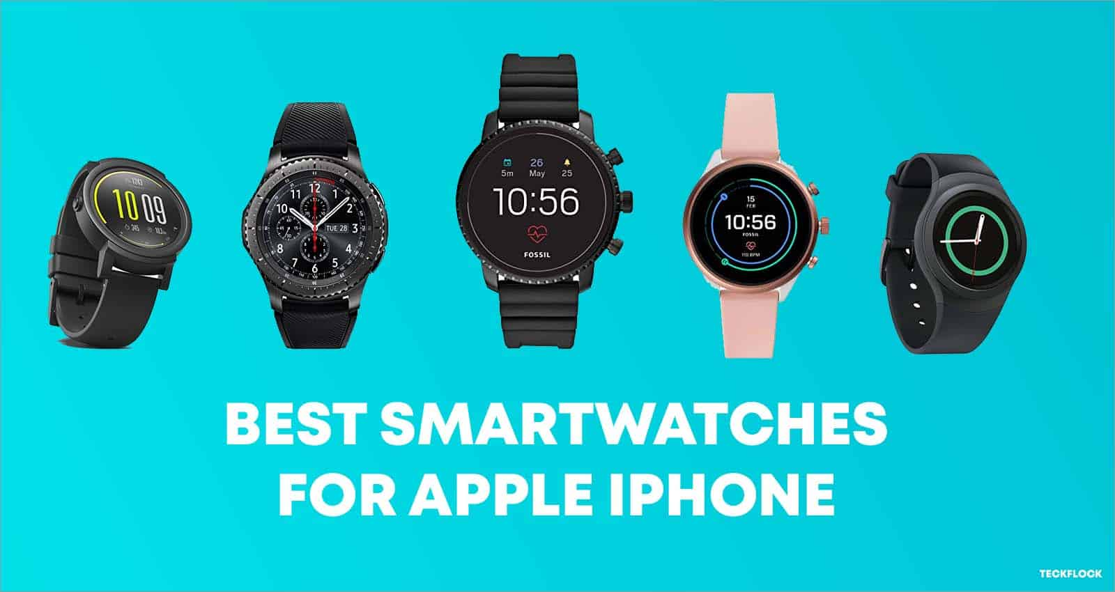 Smartwatches for iPhone
