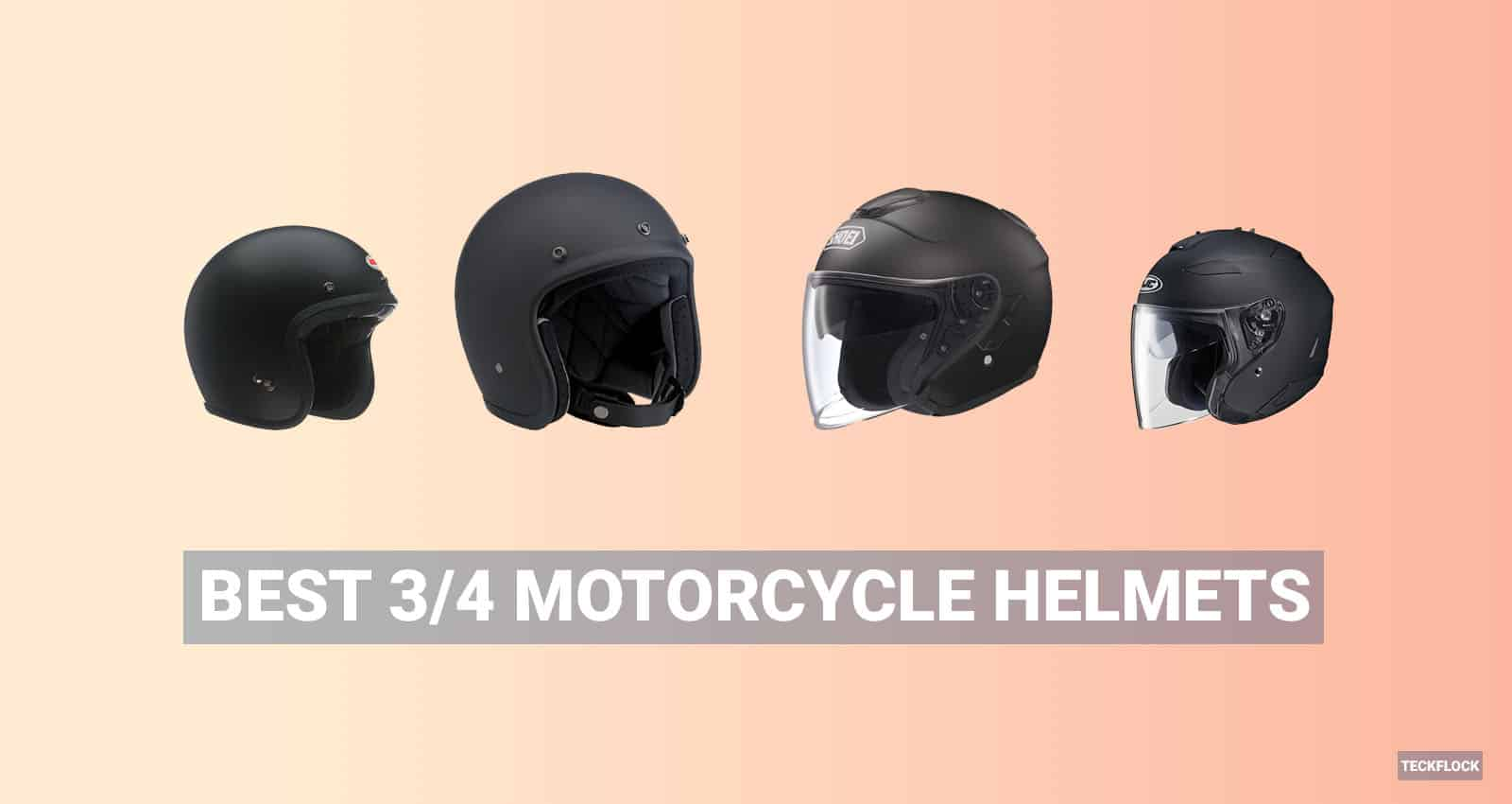 Best 3/4 Motorcycle Helmets