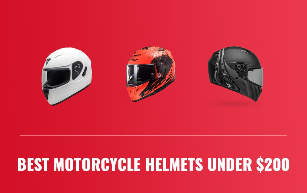 Best Motorcycle Helmets under $200