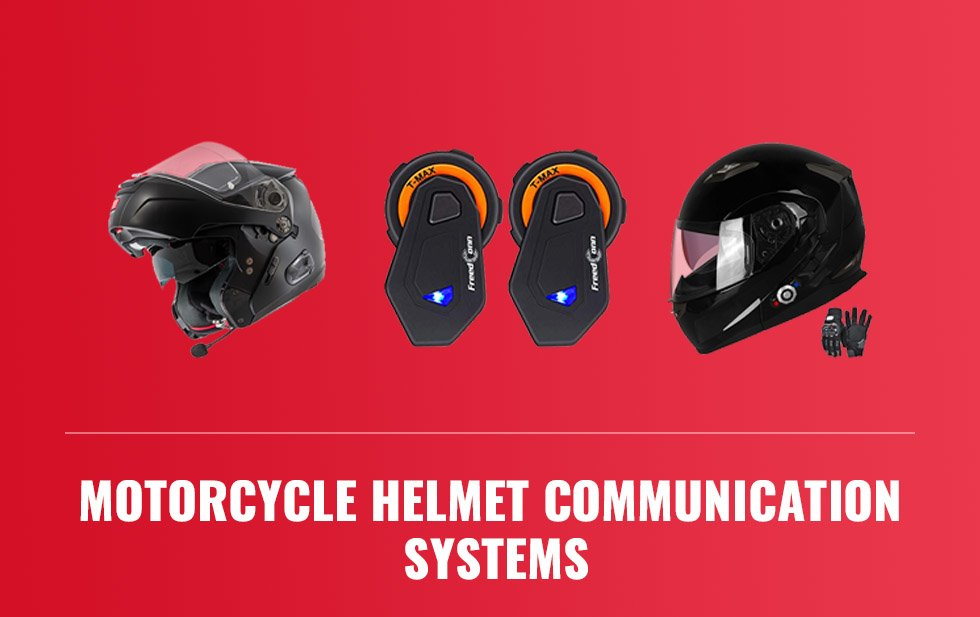 Motorcycle Helmet Communication Systems