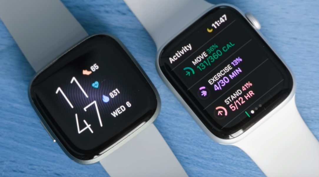 Apple Watch 5 vs Fitbit Versa 2: Fitness Tracking Compared