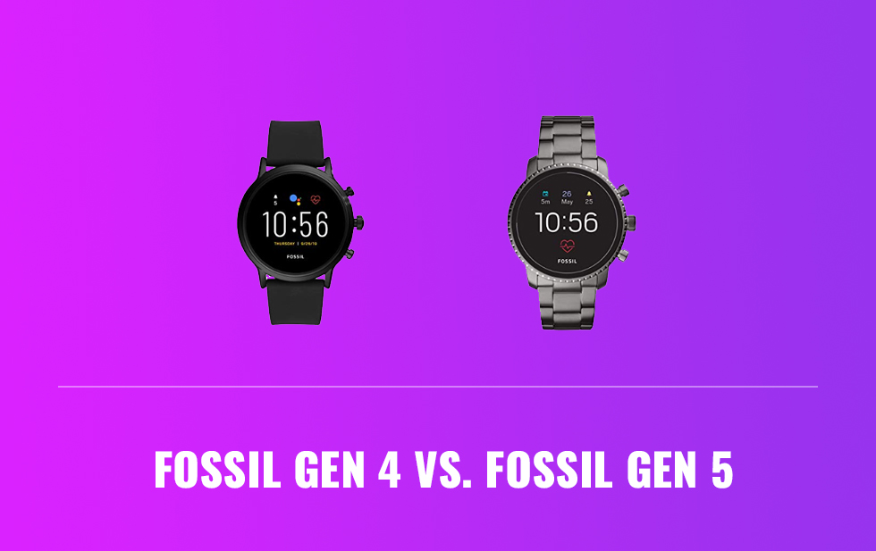 Fossil Gen 4 Vs. Fossil Gen 5
